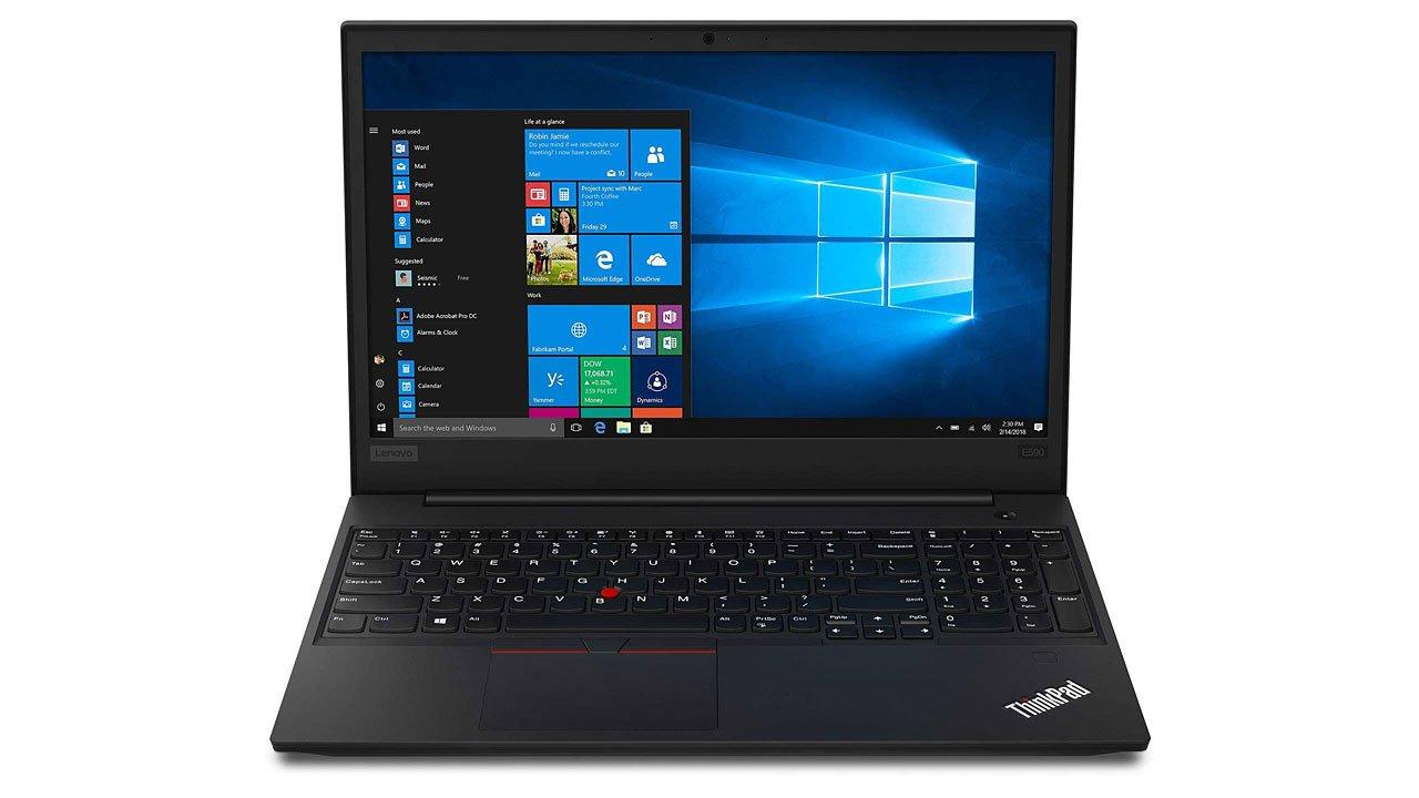 راهنمای خرید لپ تاپ دانشجویی - لنوو تینکپد E590